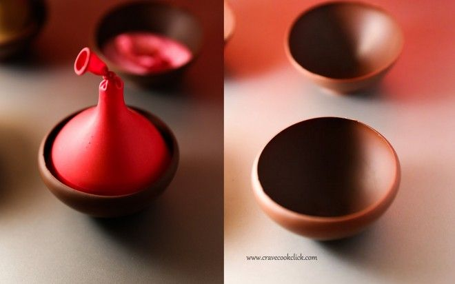 5 660x412 Chocolate Bowl Recipe/ How to make chocolate bowls