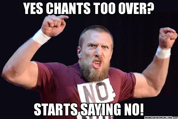 Angry Daniel Bryan #WWE #wrestling