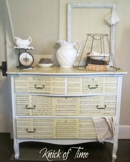 Antique Dresser Entertainment Center - Knick Of Time
