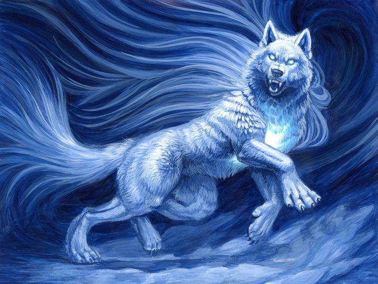 золотые мистические арты волков доме имеется