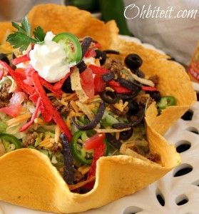 Recipe For  Un-Fried Taco Salad