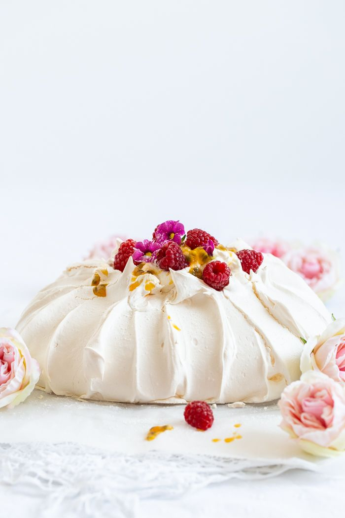 Pavlova Mit Passionsfrucht Recipe Decorating Desserts
