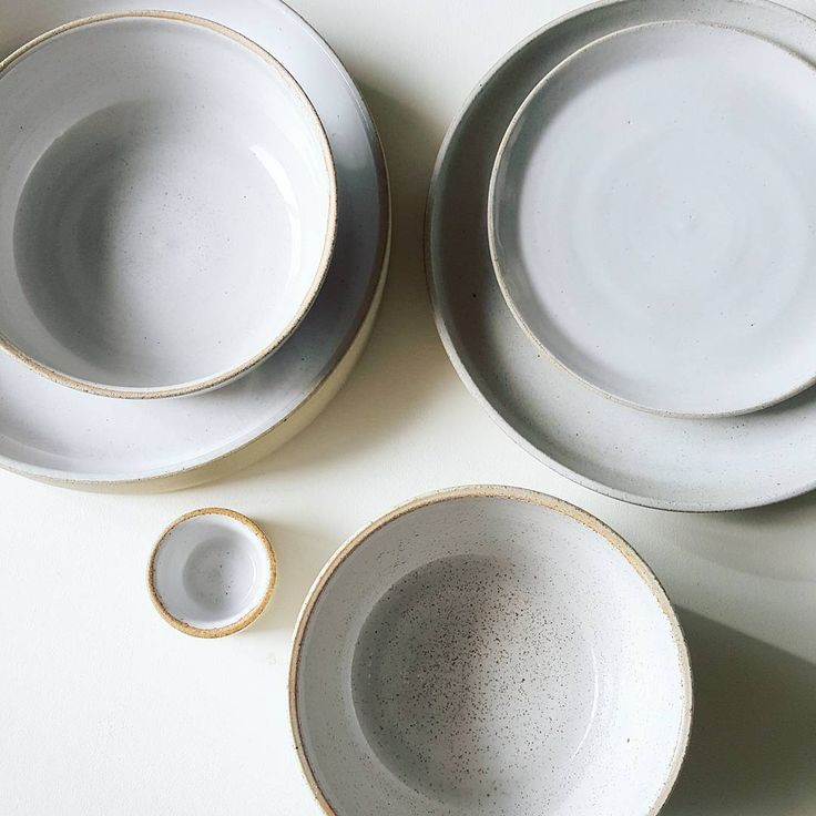 Tufts - stoneware tableware samples