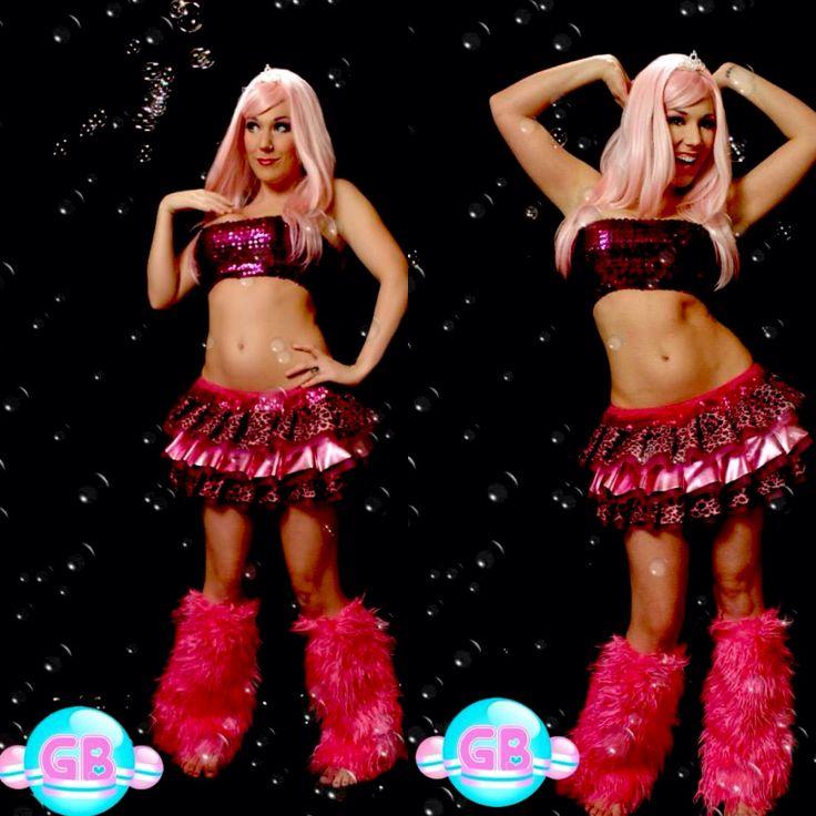 Custom Clubwear by Glitter Bubbles *GB tutu *GB fluffies  *GB sparkle bandeau top