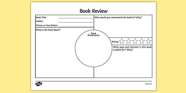 The 25+ best Book review template ks2 ideas on Pinterest - book review template