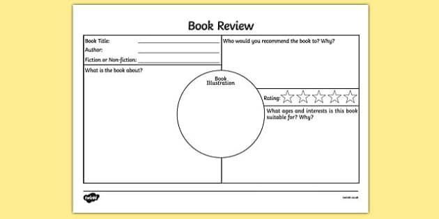 Writing film review essay ks2 template