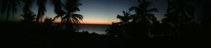 Sunset on Mozambique