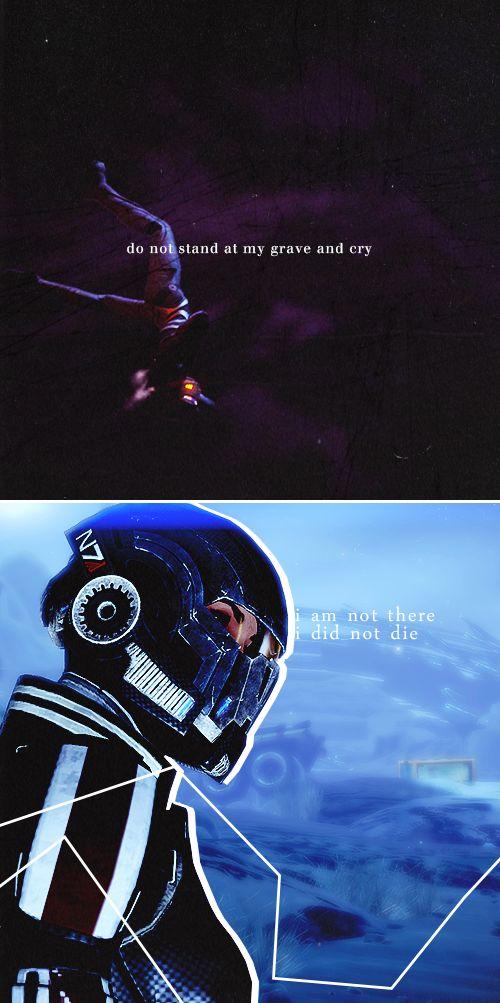 Commander Shepard: i am the soft stars that shine at night #masseffect