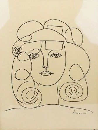 Picasso sketch Picasso drawing Picasso art Drawings