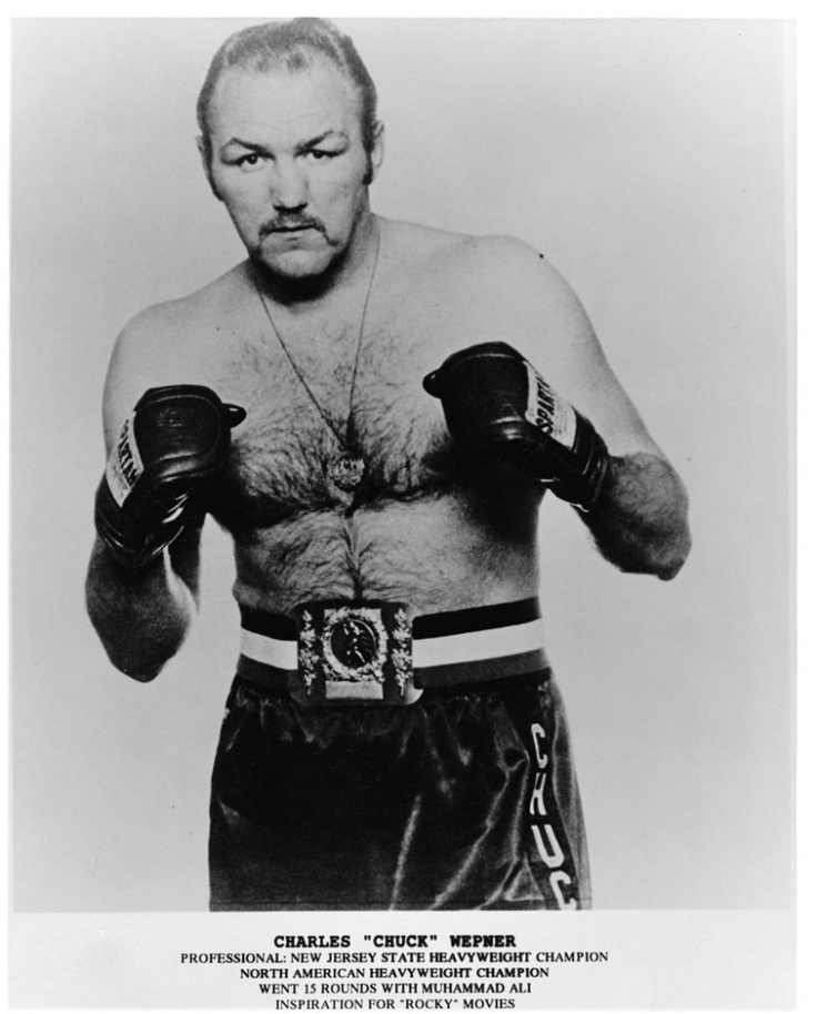 """CHUCK WEPNER (1939)  BOXER--INSPIRATION FOR """"ROCKY""""..From Bayonne, NJ..COOL..."""