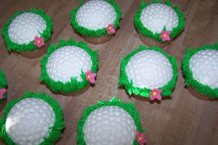 Golf Ball Cupcakes on Cake Central