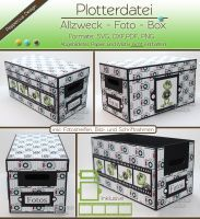 Plotterdatei - Foto - Allzweck Box inkl. Filmstreifen & 2 Rahmen