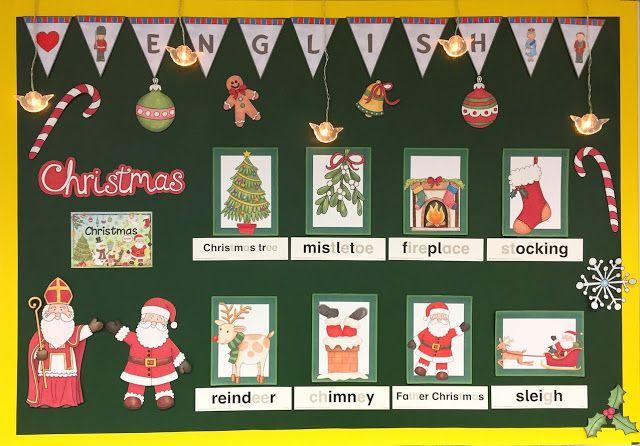 Materialwiese: Christmas im Englischunterricht