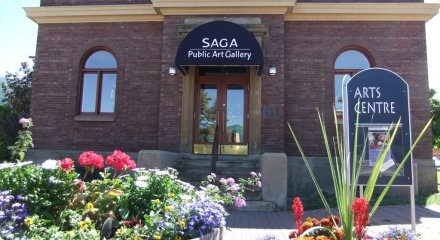 SAGA Public Art Gallery Downtown Salmon Arm