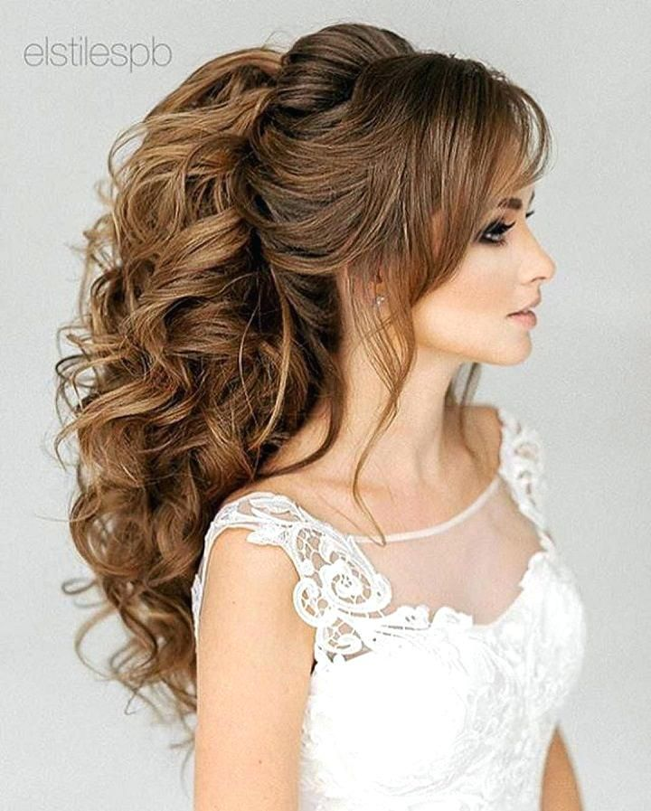 Unique Bridal Hairstyles Long Hair Tiara Veil Wedding Hairstyles
