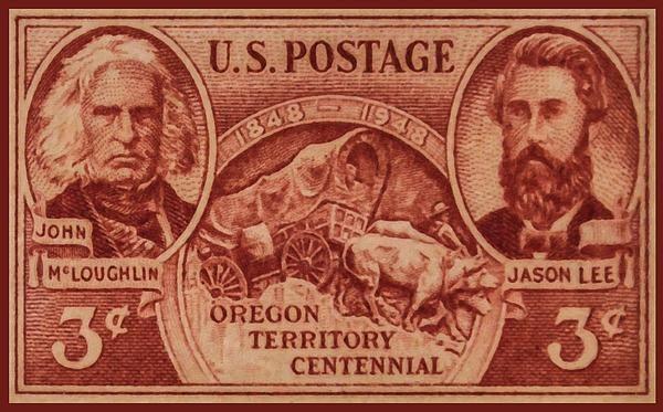 I uploaded new artwork to fineartamerica.com! - 'The Oregon Territory Stamp' - http://fineartamerica.com/featured/the-oregon-territory-stamp-lanjee-chee.html via @fineartamerica