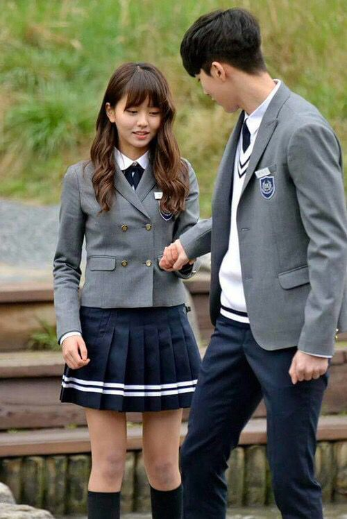 Kim So Hyun and Nam Joo Hyuk