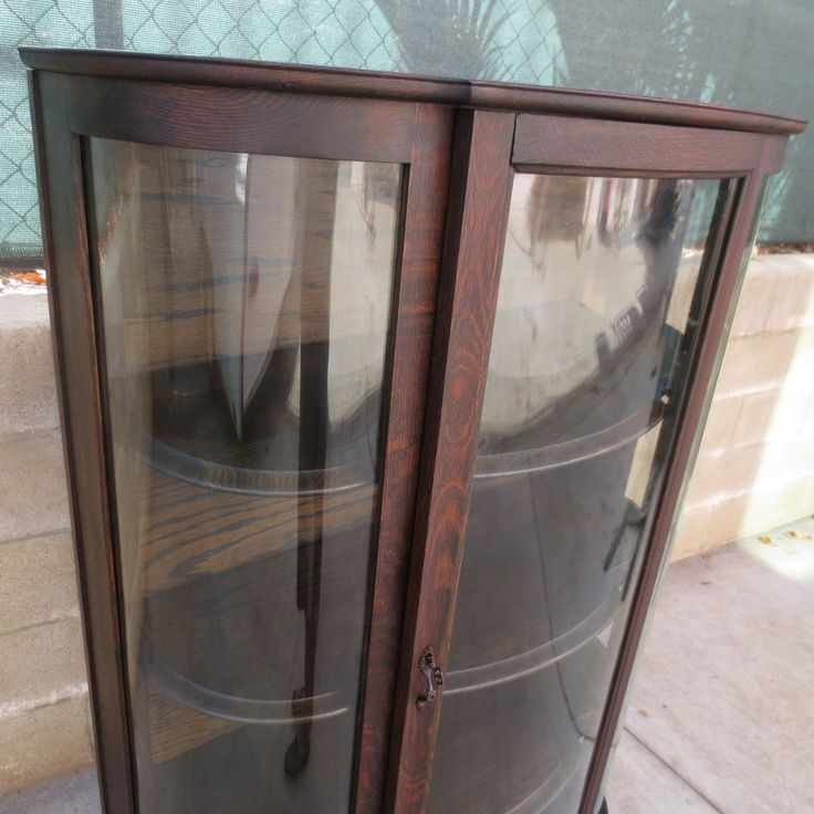 American Antique Bow Front China Cabinet Antique Display Cabinet Antique  Furniture - Best 25+ Antique Display Cabinets Ideas On Pinterest Natural