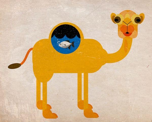 Alvaro Tapia Hidalgo #art #camel