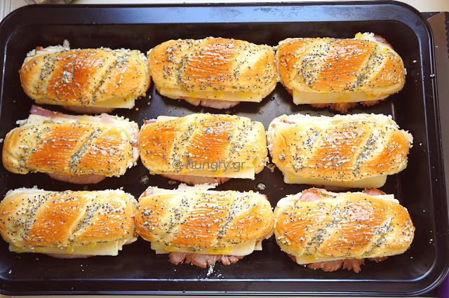 Hawaiian Sandwiches, Ζεστά Χαβανέζικα Σάντουϊτς, Συνταγές για Σάντουϊτς, Ζεστά Σάντουϊτς, Σάντουιτς από τη Χαβάη, Ζεστά Χαβανέζικα Σάντουιτς, Χαβανέζικα Σάντουιτς