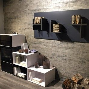 Interni Milano - #isaloni #2015 #rondadesign #magnetic #shelves