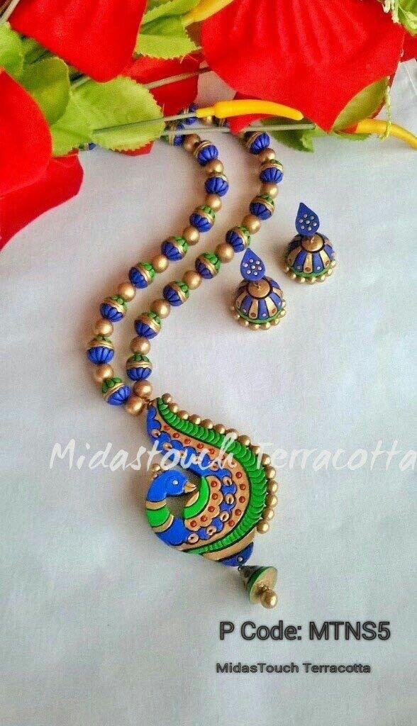 Midas touch terracotta jewelry