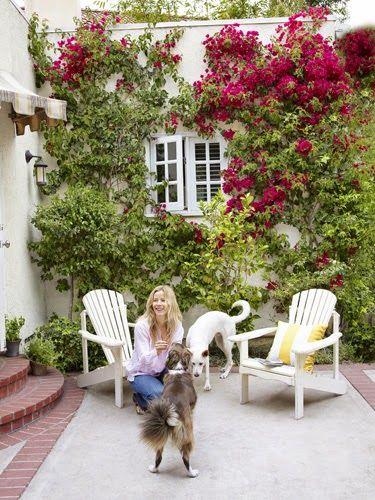 Amenajare în galben într-o casă din California