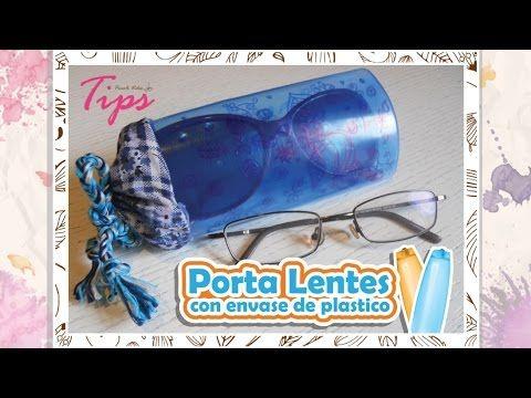 DIY estuche para gafas transparente #tutorial | Carolina Llano - YouTube