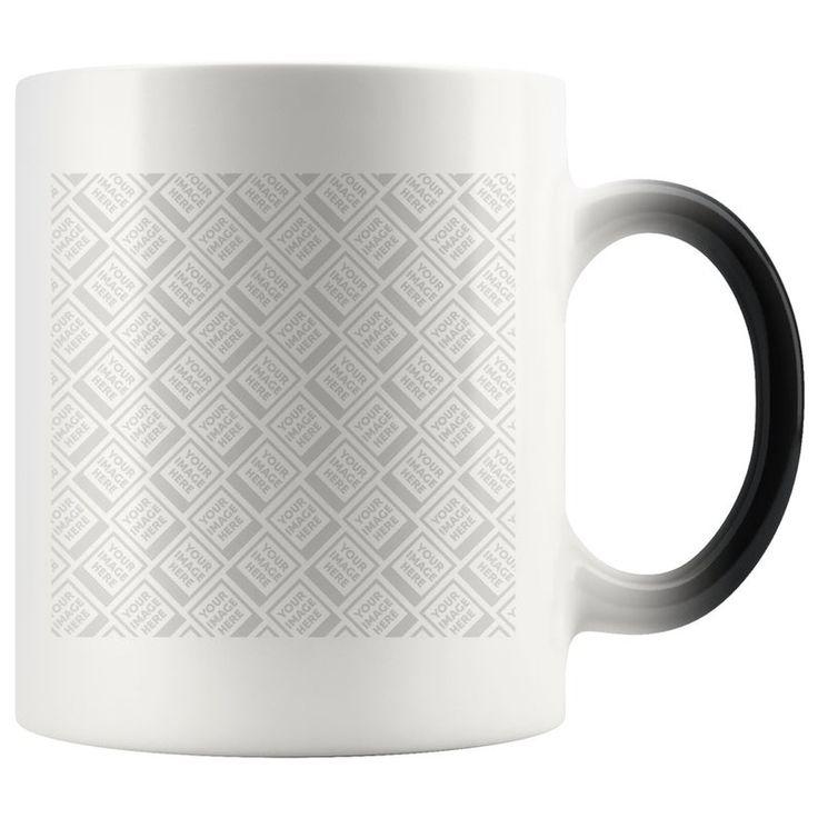 Custom Photo Magic Mug Personalized Color Changing Mug ...