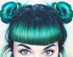 Teal Hair Dye Shades and Look #teal #hair