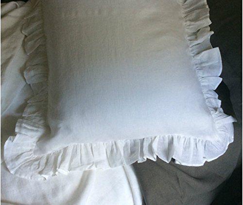 Amazon.com: White Bedspreads handmade in natural linen, White Bed Covers, White Bedding, White Bedspread, Linen Coverlet, Shabby Chic Bedding, Luxury Bedding, Queen Bedspread, King Bedspread, Twin Bedspread: Handmade