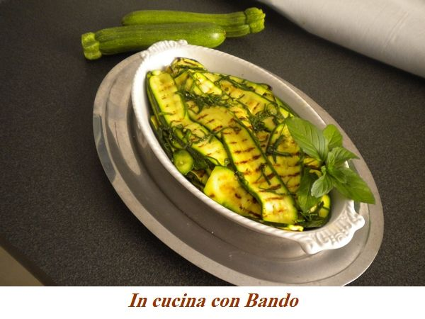 antipasto di zucchine