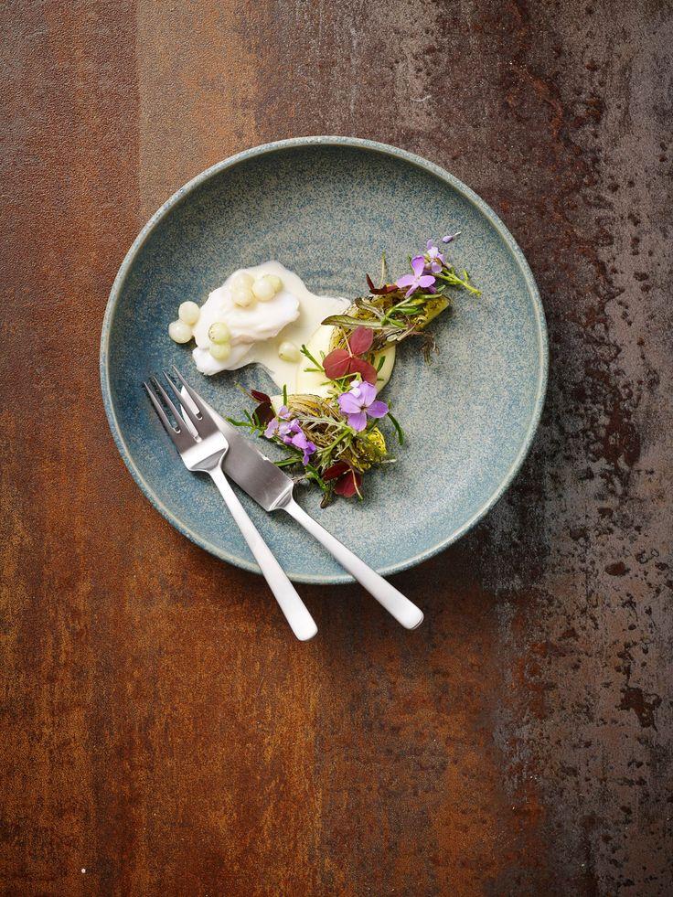 Jeppe Foldager. Kay Bojesen Grand Prix fish knife and fish fork. Photo: Henrik Freek Kvist Christensen. Kay Bojesen Grand Prix cutlery. Danish Design.