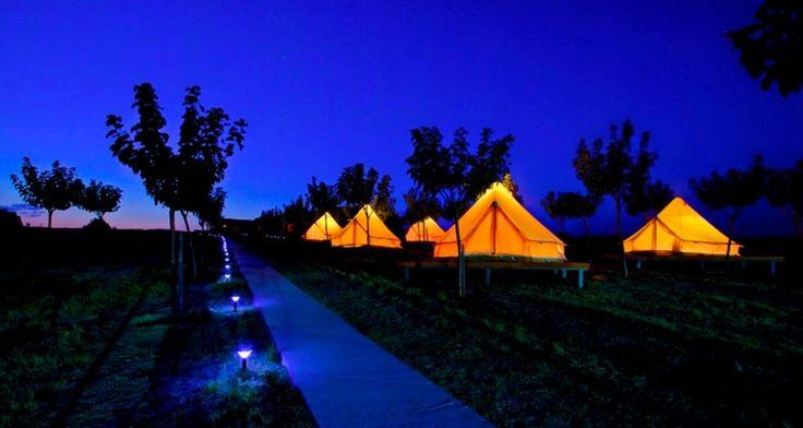 Λήμνος: Διακοπές σε σκηνή πολυτελείας