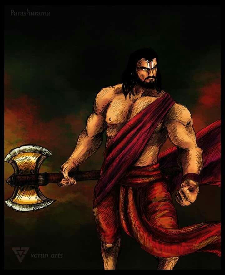 Parshuram and his parshu (axe)