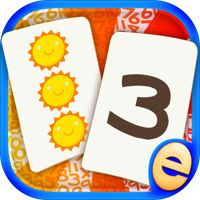 Numbers and Counting Early Learning Math Match Games for Kids in Pre-K, Kindergarten and 1st Grade od vývojáře Eggroll Games LLC
