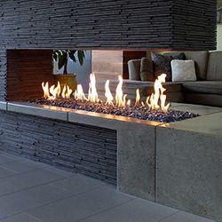 Hospitality Design - Linear Burner System from Spark Modern Fires