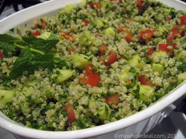 Tabouleh Recipe — Dishmaps