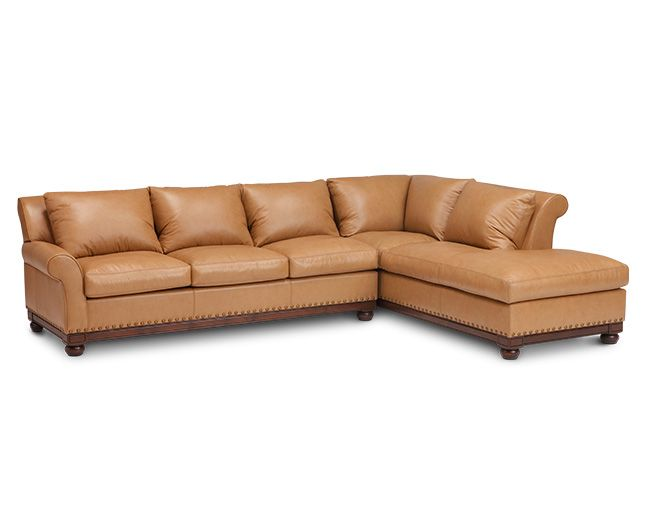 Chesterfield Sofa Echo Park Pc Sectional Sofa Mart