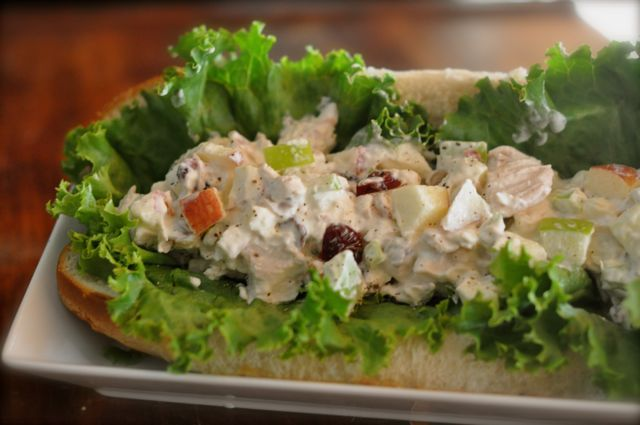 Subway Orchard Chicken Salad- I've been making this for a while and it tastes just as good as the sandwich at Subway!