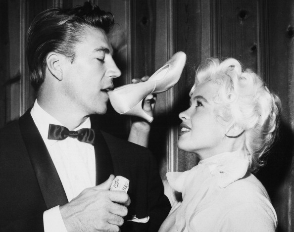 17 best images about jayne mansfield on pinterest merv for Jayne mansfield and mickey hargitay