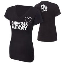 "Dean Ambrose ""Stole My Heart"" Women's T-Shirt"