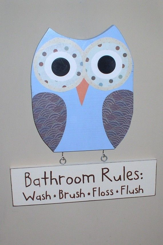 25 best boys bathroom themes ideas on pinterest nautical theme bathroom nautical bathroom - Owl themed bathroom decor ...