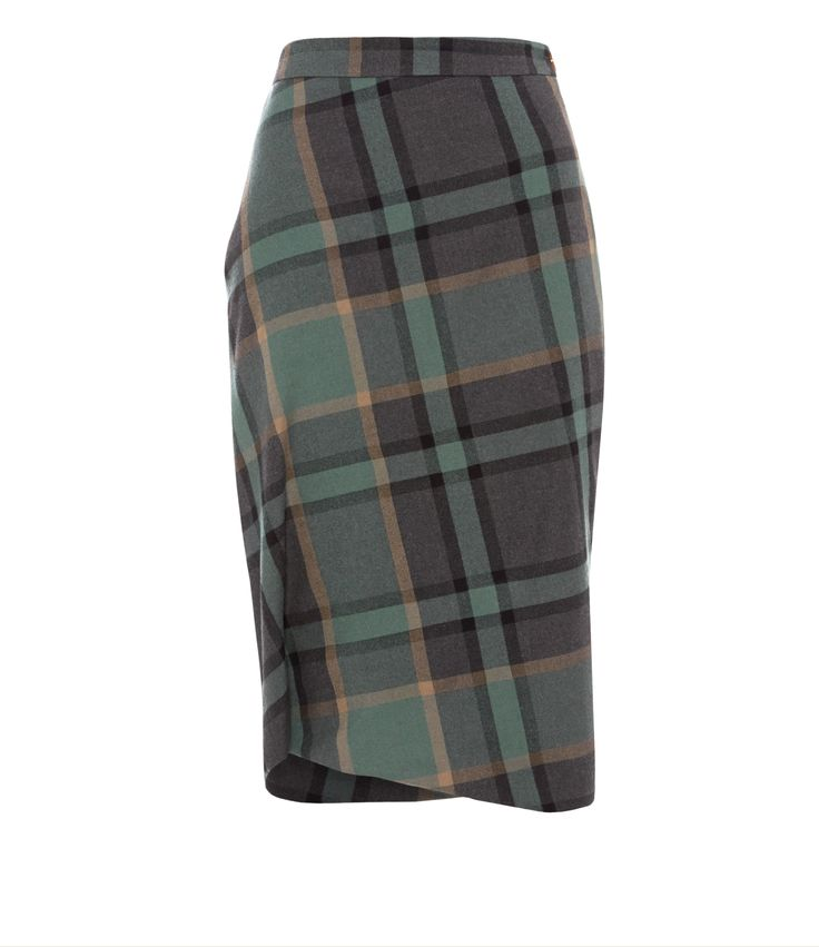 Green Tartan Accident Skirt - I think that as a Highlander it would be wrong and almost unpatriotic for me not to have this in my wardrobe!