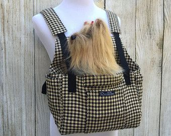 Dog Carrier PDF Sewing Pattern Small Dog Purse by PupPanache