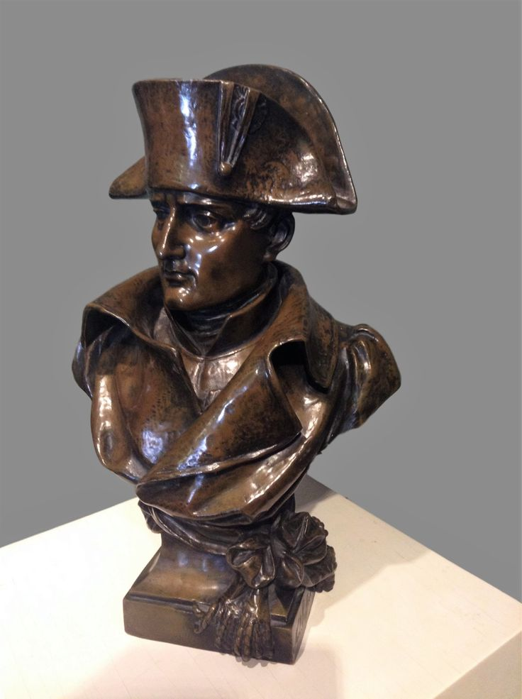Bronze Bust of Napoleon by French sculptor, Noel Ruffier