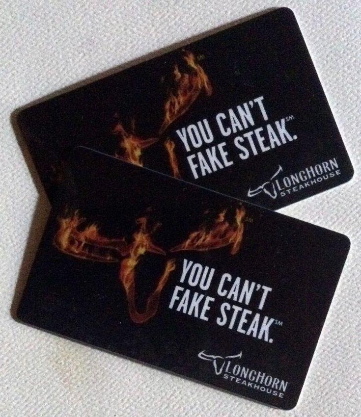 $90.00 GIFT CARDS, LONGHORN STEAKHOUSE/ OLIVE GARDEN / DARDEN CARD*US Seller*  #LonghornSteakhouseOliveGarden