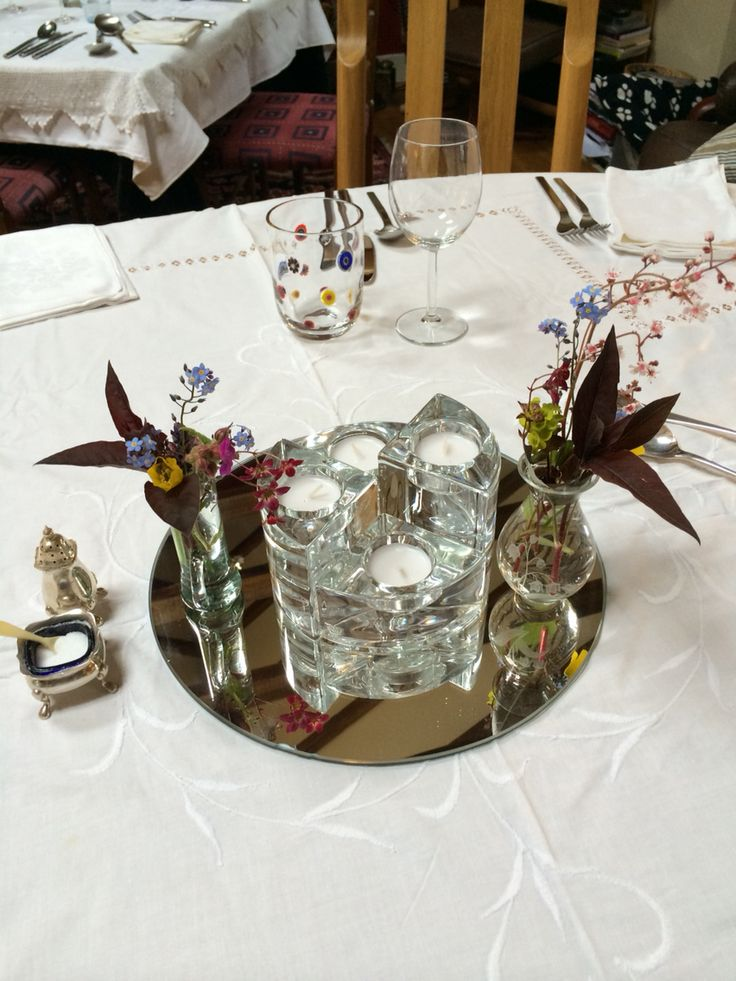 Table decoration for Art Party