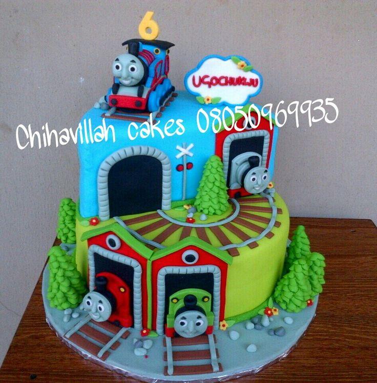 Thomas The Tank Engine Fondant Cake Tutorial