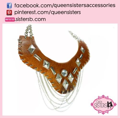 deri kolye #necklace #leather #chain